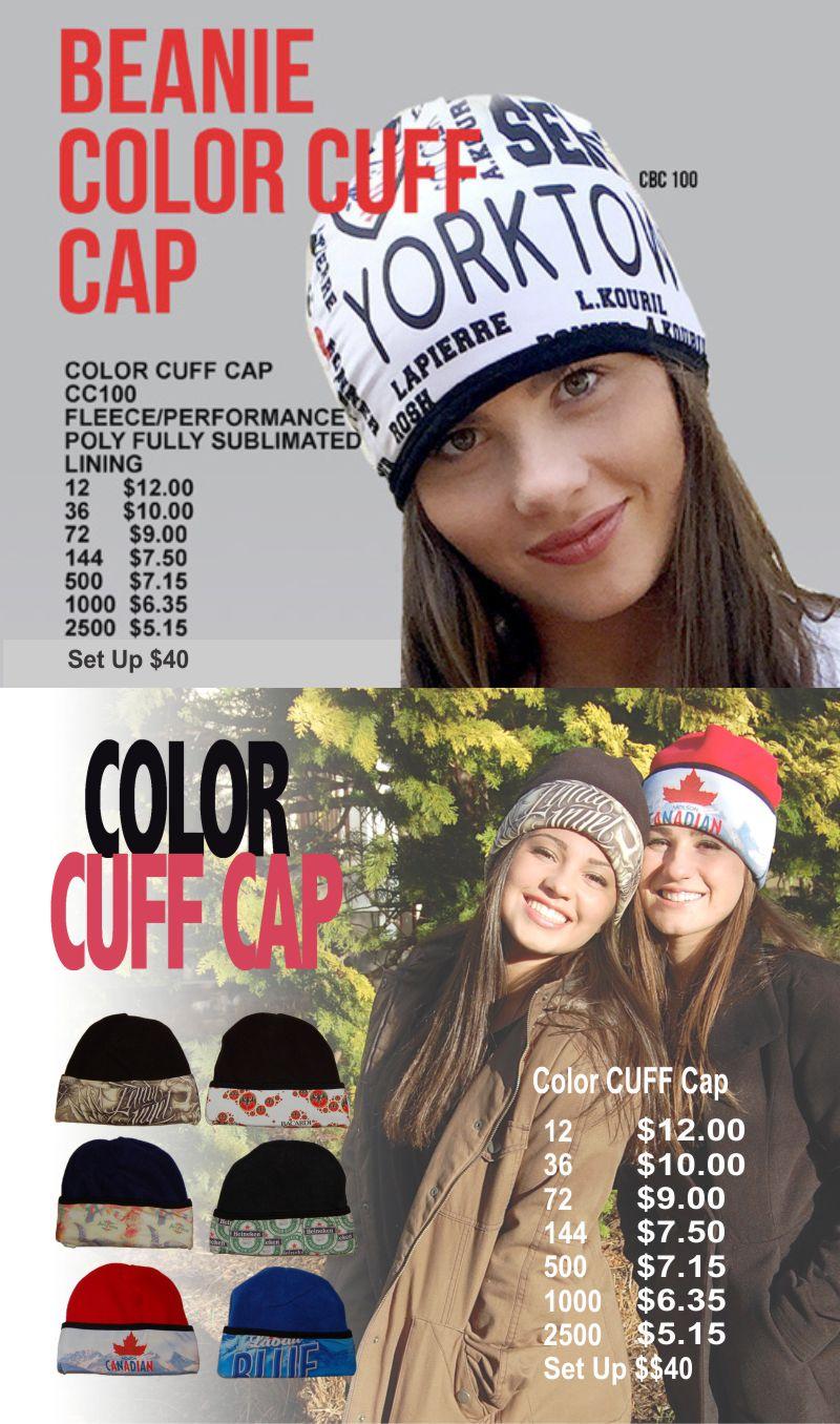 Color Cuff Cap