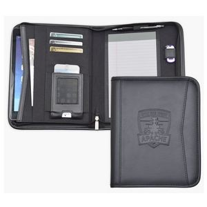 Tablet Padfolio with Zippered Closure