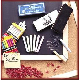 12 Piece White Chalk Set